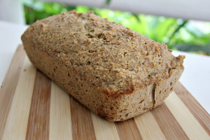 Almond and flaxseed bread